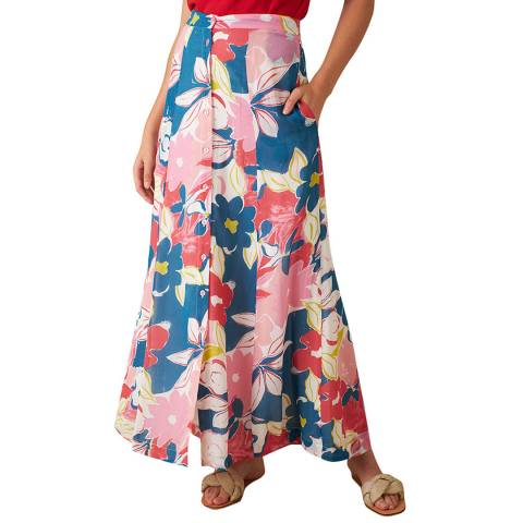 Emily and Fin  Pink Asilah Floral Felicity Skirt