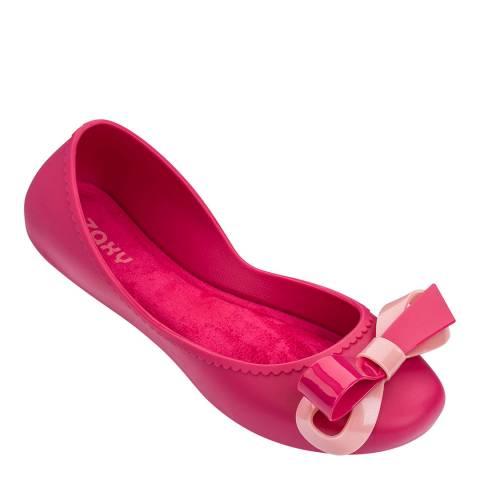 Zaxy Start Ribbon Bow Pink