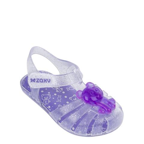 Zaxy Baby Lilac Gummy Bear Jelly Shoes