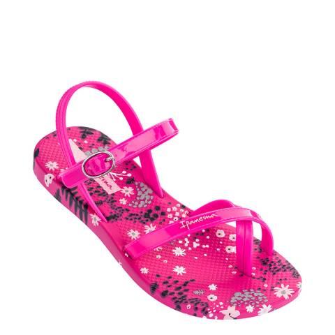 Ipanema Kids Pink Flower Sandals