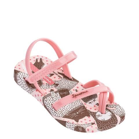 Ipanema Baby Blush Kitty Sandals