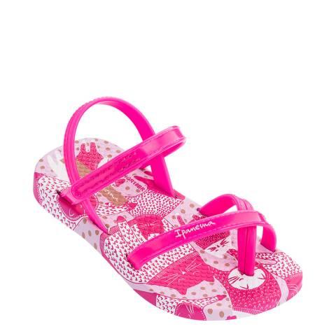 Ipanema Baby Pink Kitty Sandals