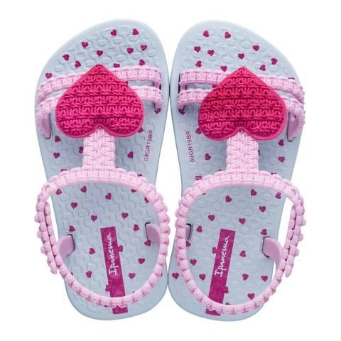 Ipanema Baby Candy/Pink Heart Flip Flops