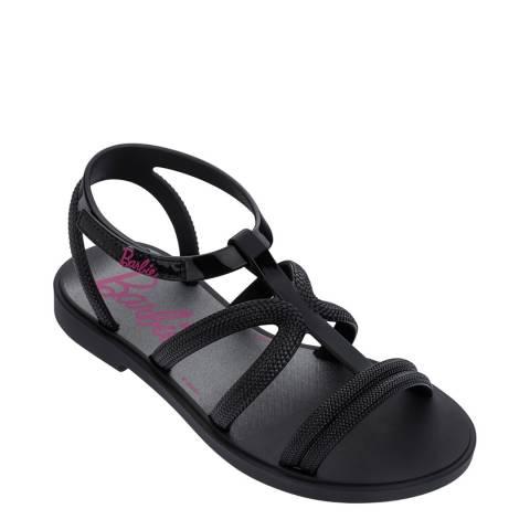 Ipanema Kids Black Barbie Sandals