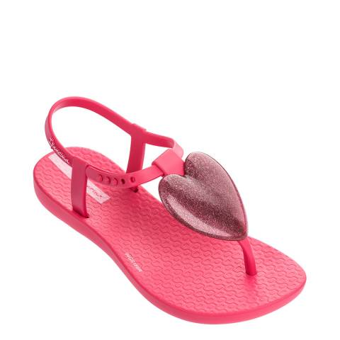 Ipanema Kids Pink Love Sandals