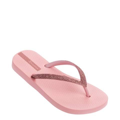Ipanema Kids Peach Lolita Glitter Flip Flops