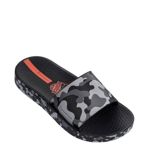 Ipanema Kids Black Camo Slides
