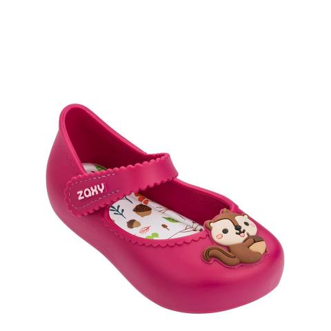 Zaxy Baby Pink Squirrel Ballerina