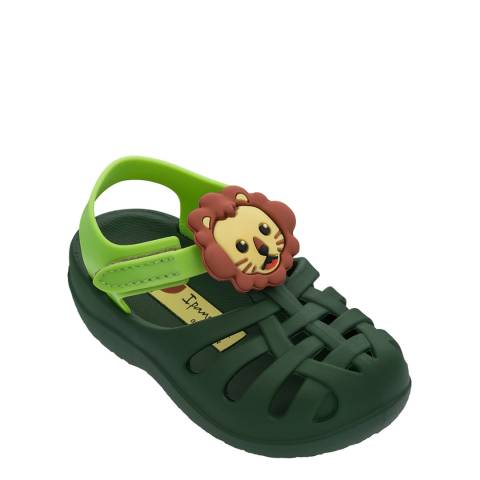 Ipanema Baby Summer Green Lion Sandals