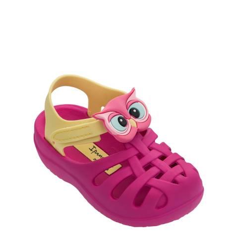 Ipanema Baby Pink Owl Summer Animal Sandal