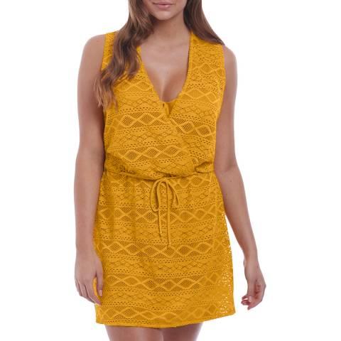 Freya California Gold Sundance Cross Over Dress