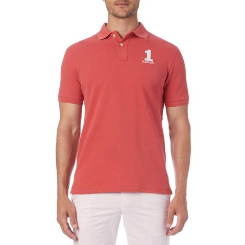 Hackett London Red New Classic Polo Shirt
