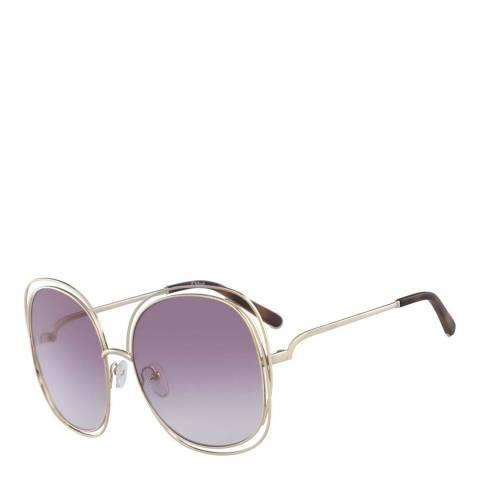 Chloe Women's Gold Sunglasses 62mm