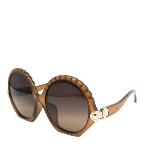 Chloe Women's Brown Sunglasses 56mm