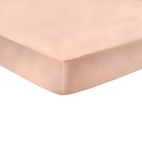N°· Eleven Deep Double Fitted Sheet, Blush