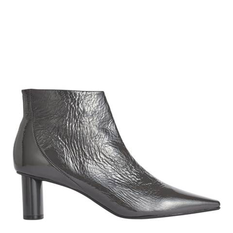Jigsaw Steel Adla Embossed Leather Boots