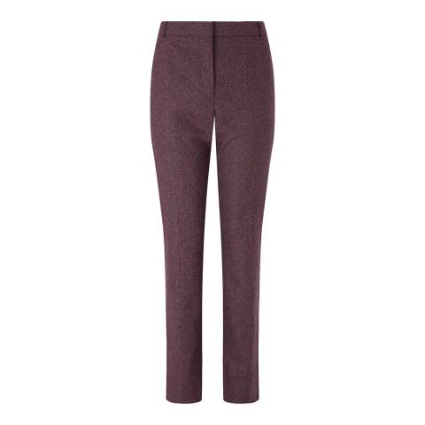 Jigsaw Plum Donegal London Slim Stretch Trousers