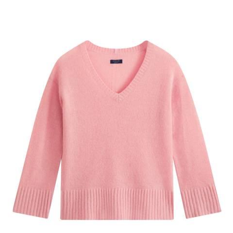 Jigsaw Pink Cloud 7 Cashmere Jumper