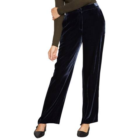 Jigsaw Navy Relaxed Trousers