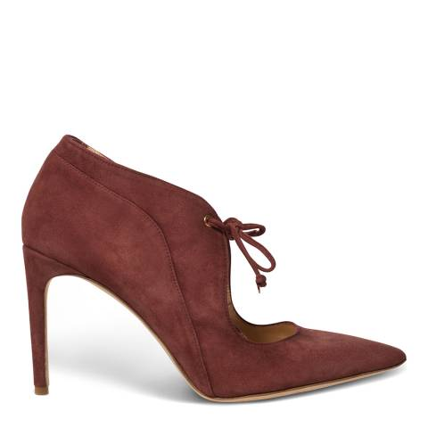Chelsea Paris Red Suede Izzy Court Shoe