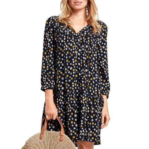 hush Black/Multi Lupin Print Dress