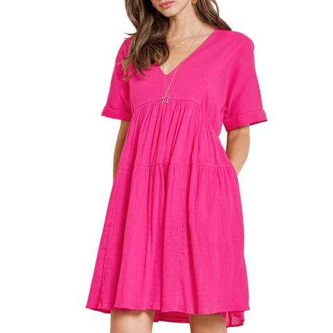 hush Pink Kyra Mini Dress
