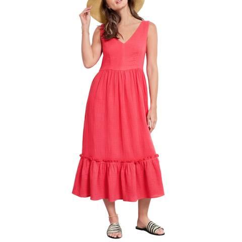 hush Pink Odlie Low Back Dress