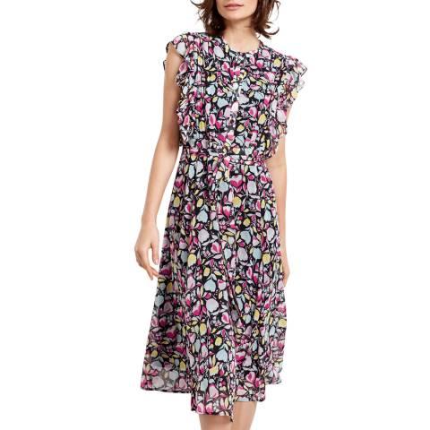 hush Floral Elspeth Ruffle Dress