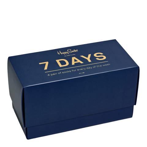 Happy Socks Multi 7 Day Gift Box Socks