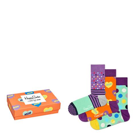 Happy Socks Multi Happy Socks Gift Boxed Socks