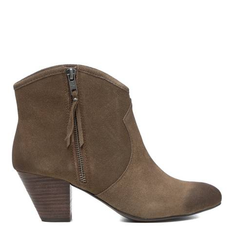 ASH Taupe Jayce Bis Ankle Boots