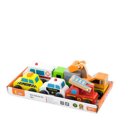 Viga Toys 6 Car Vehicles Set