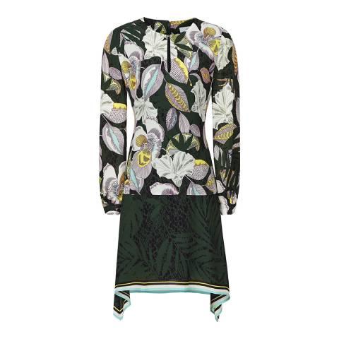 Reiss Multi Floran Floral Print Dress