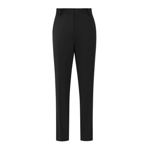 Reiss Black Harper Petite/Tall Slim Trousers