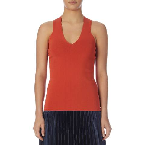 Reiss Orange Sophia Fitted Knit Top