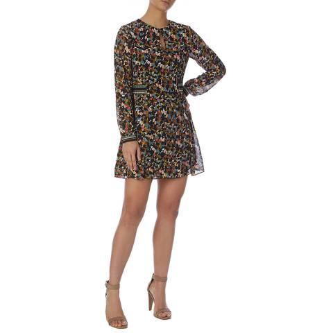 Reiss Multi Martina Ditsy Print Dress
