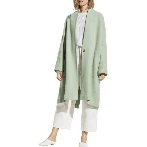 Vince Mint Wool Blend Long Coat