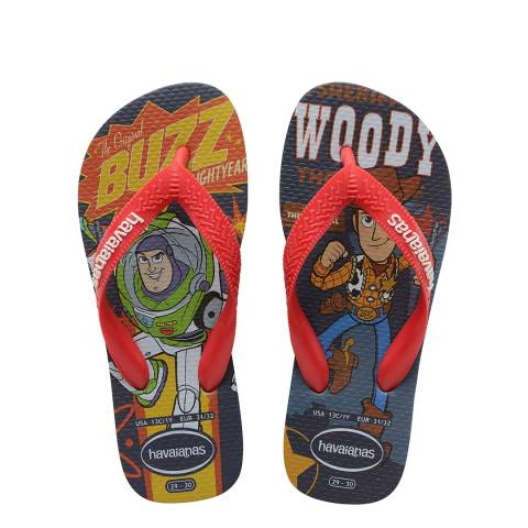 Havaianas Kid's Indigo Blue Toy Story Flip Flop