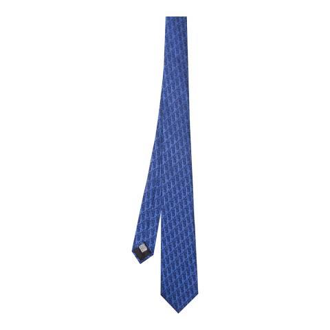 Dior Navy Blue Dior Tie