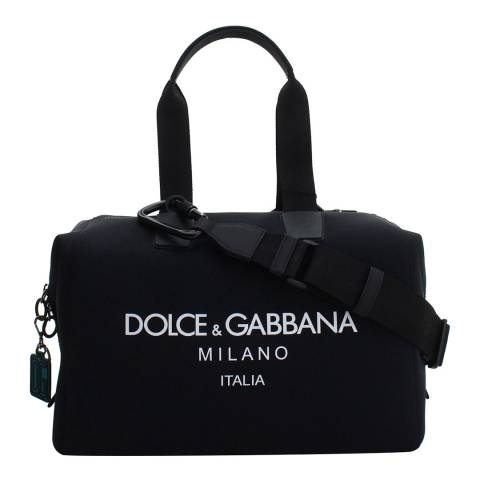 Dolce & Gabbana Men's Black Millennials Travel Bag