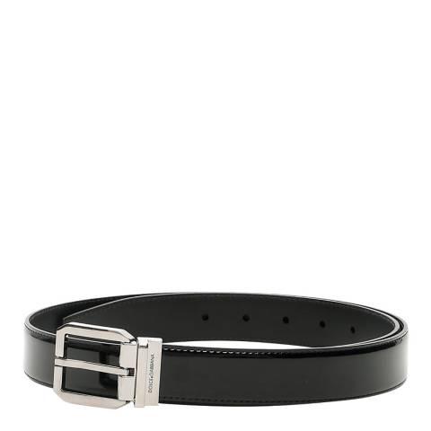 Dolce & Gabbana Men's Black Leather Dolce & Gabbana Belt