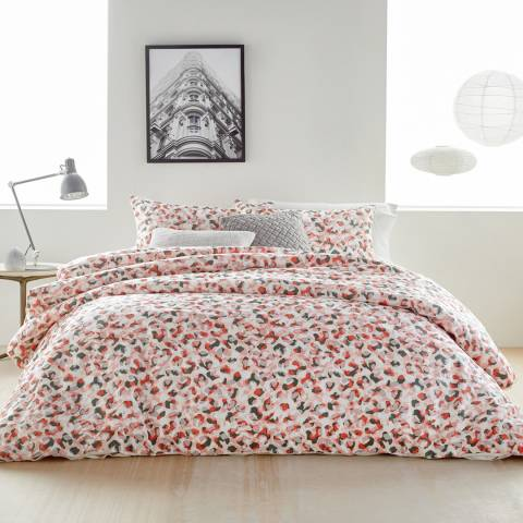 DKNY Wild Geo Super King Duvet Cover, Blush