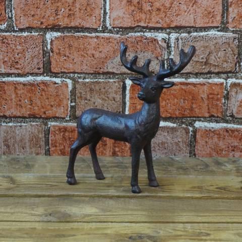 The Satchville Gift Company Cast iron deer ornament