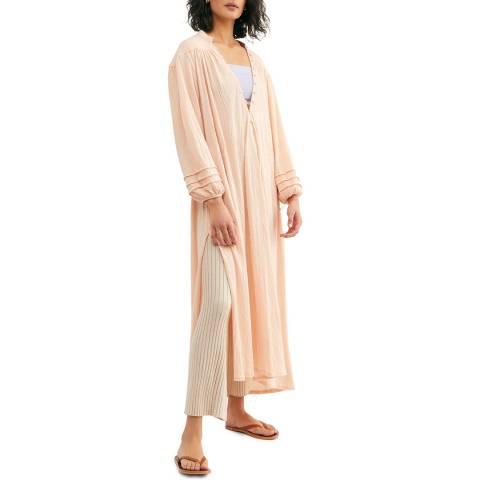 Free People Pink Primrose Maxi Dress