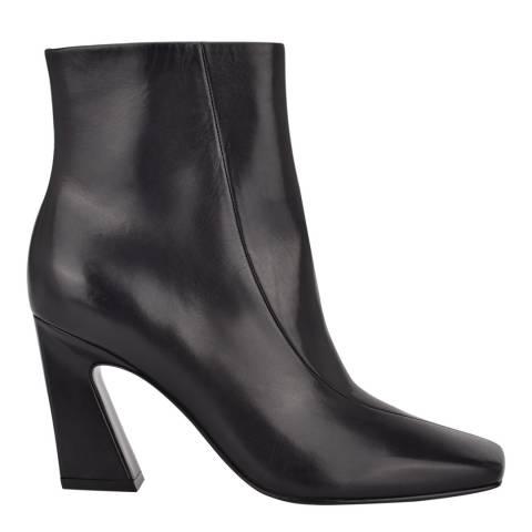 Sigerson Morrison Black Leather Ervin Ankle Boots
