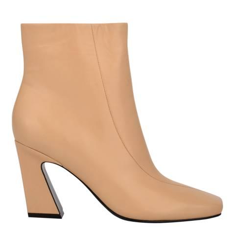 Sigerson Morrison Malto Nude Leather Ervin Ankle Boots