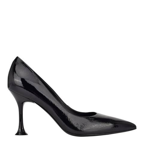 Sigerson Morrison Black Norris Leather Pointed Heeled Courts