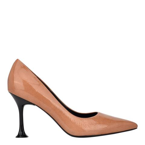 Sigerson Morrison Macaroon Norris Leather Pointed Heeled Courts