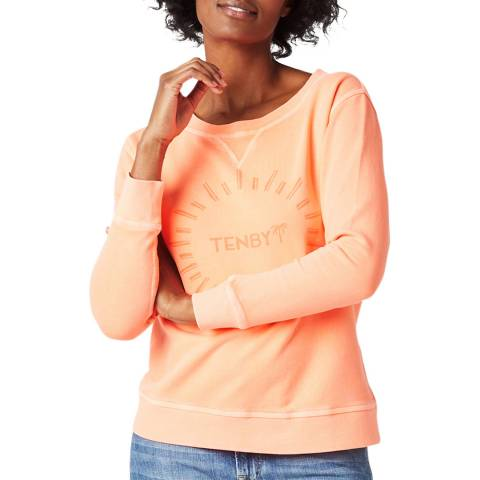 White Stuff Orange Tenby Sweatshirt