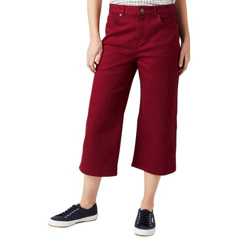 White Stuff Red Belle Twill Crop Jeans